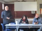 Director de Hospital se reúne con representantes de CUT Provincial y trabajadores subcontratados del establecimiento