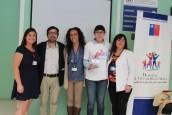 """Profesionales del equipo """"Grupos Emergentes"""" del Hospital San Martín de Quillota, realizaron una charla de sensibilización sobre la diversidad sexual a la comunidad cabildan"""