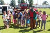 Funcionarios del Hospital brindaron Fiesta Navideña a niños de hogares de la comuna