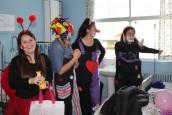 Pacientes hospitalizados en Pediatría tuvieron su celebración del Día del Niño
