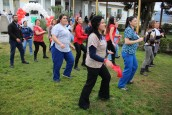 """Funcionarios del Hospital San Martín se suman al Mes del Corazón bailando """"Despacito"""""""