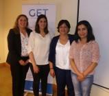 Importante premio obtuvieron enfermeras de Cirugía en Curso de Heridas y Ostomías
