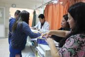 Hospital San Martín se prepara para extensas festividades patrias