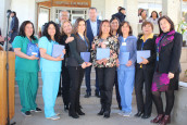 Con importantes desafíos por delante el San Martín de Quillota celebró el Día Nacional del Hospital