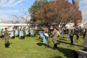 Banda del Regimiento Granaderos rindió homenaje musical al personal de nuestro Hospital